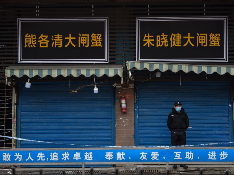 Shops are closed during Coronavirus pandemic